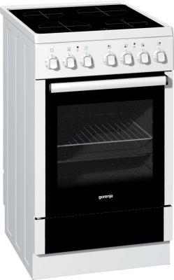 Электрическая плита Gorenje EC55220AW белый