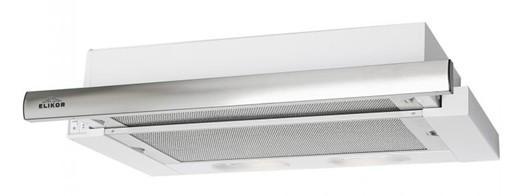 Вытяжка встраиваемая Elikor Интегра 60П-400-В2Л белый/серебристый