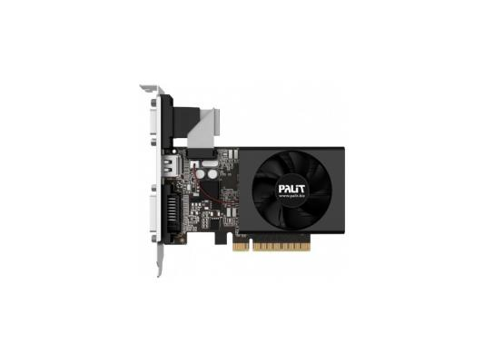 Видеокарта 1024Mb Palit GeForce GT730 PCI-E 64bit GDDR5 DVI HDMI Retail видеокарта 4096mb palit geforce gtx1050ti stormx pci e pa gtx1050ti stormx 4g retail ne5105t018g1 1070f