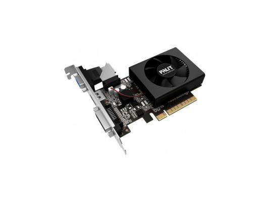 Видеокарта 1024Mb Palit GeForce GT730 PCI-E DVI HDMI NE5T7300HD06-2081F Retail видеокарта 4096mb palit geforce gtx1050ti stormx pci e pa gtx1050ti stormx 4g retail ne5105t018g1 1070f