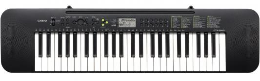Синтезатор Casio CTK-240 49 клавиш черный