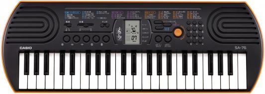 Синтезатор Casio SA-76 44 мини-клавиши 5 ударных пэдов оранжевый
