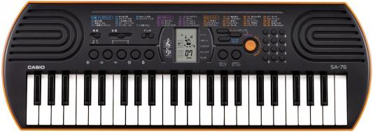 Синтезатор Casio SA-76 44 мини-клавиши 5 ударных пэдов оранжевый casio sa 77 page 3