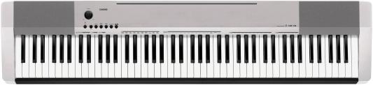 Цифровое фортепиано Casio CDP-130SR 88 клавиш USB MIDI серебристый цифровое пианино casio cdp 130sr