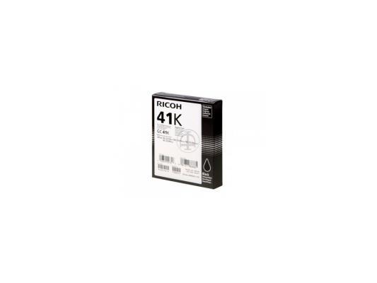 Картридж Ricoh GC 41K черный 405761