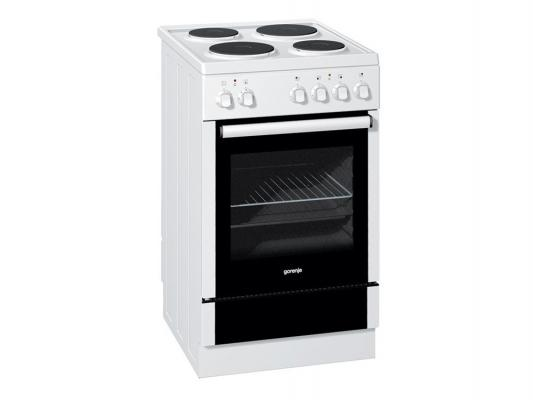 Электрическая плита Gorenje E52102AW белый