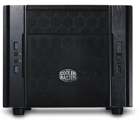 Корпус mini-ITX Cooler Master Elite 130 Без БП чёрный RC-130-KKN1 все цены
