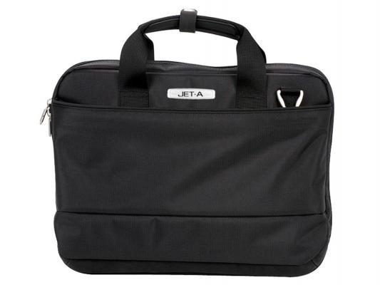 """Сумка для ноутбука 15.6"""" Jet.A LB15-01 полиэстер черный"""