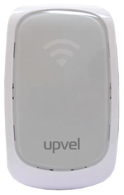 Беспроводной маршрутизатор Upvel UA-322NR 802.11n 300Mbps 2.4ГГц с индикатором силы сигнала повторитель беспроводного сигнала upvel ua 322nr wi fi