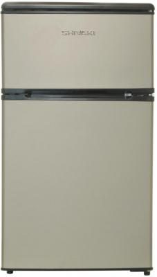 Холодильник Shivaki SHRF-90DP серебристый
