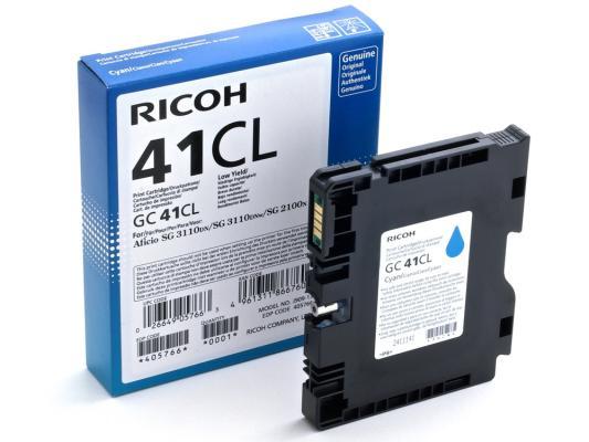 Картридж Ricoh GC 41CL голубой 405766 ricoh gc 41y