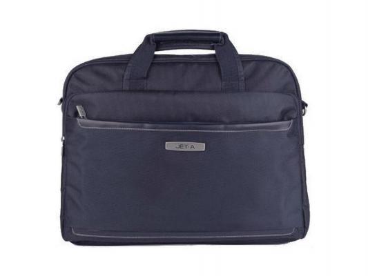 """Сумка для ноутбука 15.6"""" Jet.A LB15-49 полиэстер темно-синий"""