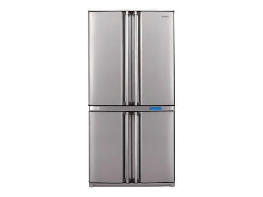 Холодильник Sharp SJ-F96SPSL серебристый sharp sj f95stbe
