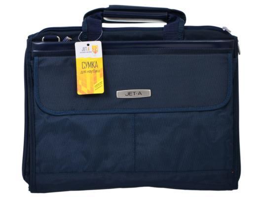 """Сумка для ноутбука 15.6"""" Jet.A LB15-51 полиэстер темно-синий"""