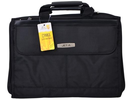 """где купить Сумка для ноутбука 15.6"""" Jet.A LB15-51 полиэстер черный по лучшей цене"""