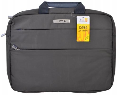 """Сумка для ноутбука 15.6"""" Jet.A LB15-60 полиэстер серый"""