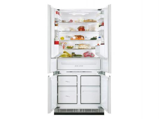 Встраиваемый холодильник Zanussi ZBB47460DA белый