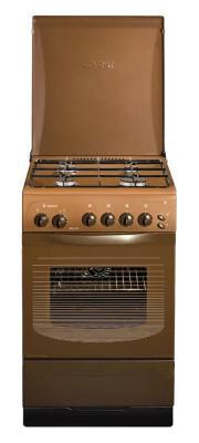 Газовая плита Gefest ПГ 3200-05 К19 коричневый газовая плита gefest 3200 06 к19