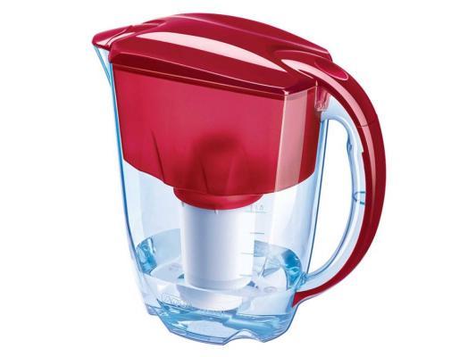 Фильтр для воды Аквафор Люкс с индикатором ресурса рубин