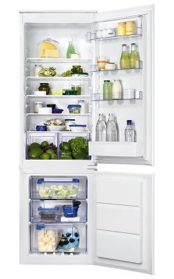 Встраиваемый холодильник Zanussi ZBB928651S белый