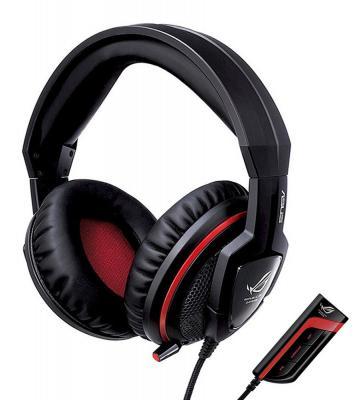Гарнитура Asus ROG Orion Pro 3.5мм черный 90-YAHI9180-UA00- гарнитура для пк проводная asus orion pro black
