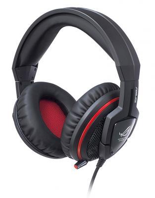 Гарнитура Asus ROG Orion Gaming Headset 3.5мм черный 90-YAHI8110-UA00 114 0175 358 мойка кухонная rog 610 41 сахара ronda franke