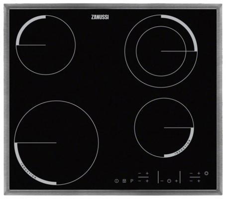 Варочная панель электрическая Zanussi ZEN 6641 XBA черный