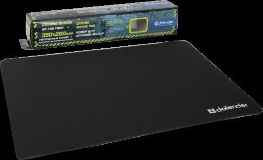 Фото - Коврик для мыши Defender GP-700 Thor тканевый лайкра 350x260x30 мм 50070 коврик для мыши defender thor gp 700 50070