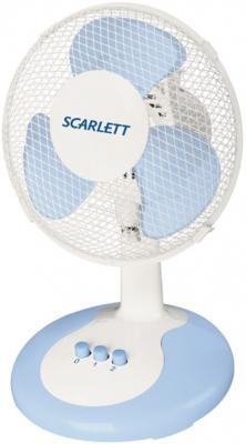 Вентилятор настольный Scarlett SC-1173 30 Вт белый вентилятор scarlett sc sf111t01 белый