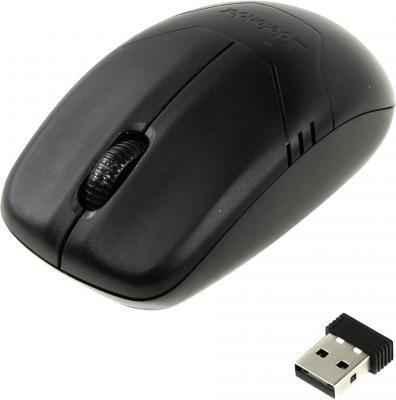 Купить со скидкой Мышь беспроводная DEFENDER Datum MM-025 Nano чёрный USB 52025