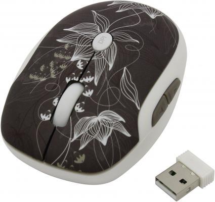 Мышь беспроводная DEFENDER To-GO MS-565 Nano Rock Bloom рисунок USB 52569