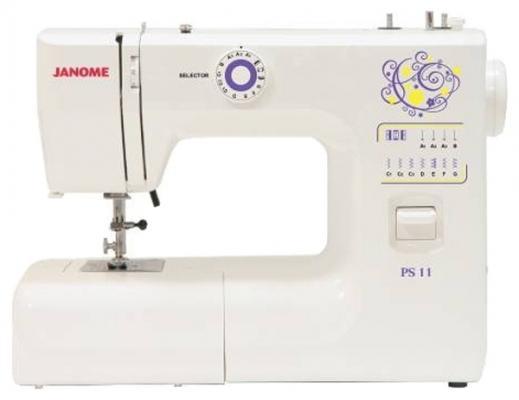 Швейная машина Janome PS-11 белый janome 2055 белый зеленый