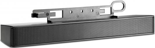 цена Колонки HP LCD Speaker bar 1.1Вт черный NQ576AA