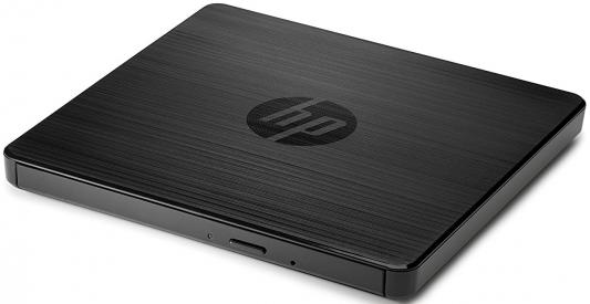 Внешний привод DVD-RW HP USB External Drive F6V97AA черный slim portable usb 2 0 dvd rw external optical drive