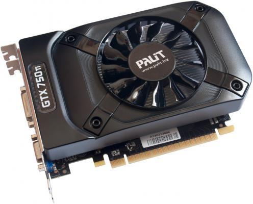 Видеокарта 2048Mb Palit GeForce GTX750TI StormX OC PCI-E 128bit DDR5 1085/5500 DVI mHDMI CRT HDCP NE5X75TS1341-1073F Retail