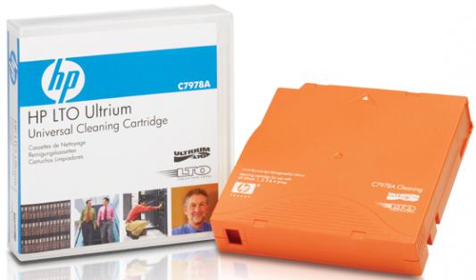 Картридж HP Ultrium Universal Cleaning Cartridge C7978A картридж hp ultrium universal cleaning cartridge c7978a c7978a