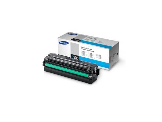 Тонер-Картридж Samsung CLT-C506L/SEE для CLP-680 CLX-6260 голубой 3500стр. картридж samsung clt c504s see голубой