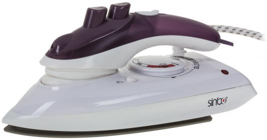 Утюг Sinbo SSI 2862 800Вт бело-фиолетовый
