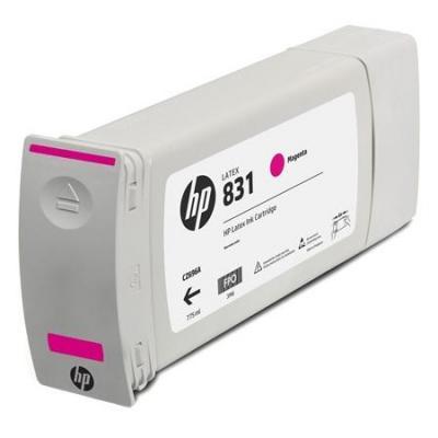 Картридж HP 831C для HP Latex 310/330/360 пурпурный 775мл CZ699A картридж hp cn671a для hp latex пурпурный