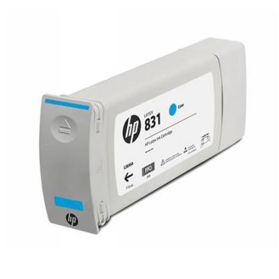Картридж HP 831C для HP Latex 310/330/360 голубой 775мл CZ695A картридж hp cz706a для latex 310 330 360