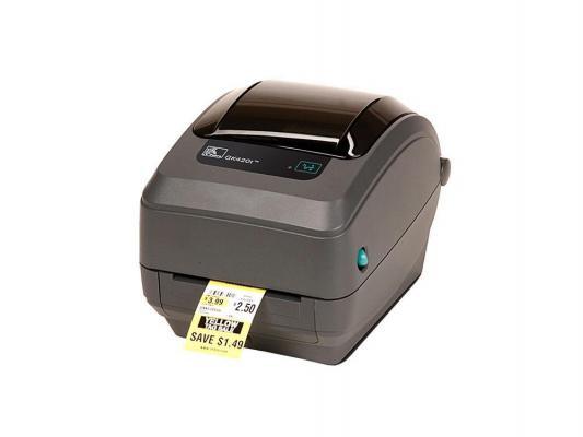 Принтер Zebra GK420t GK42-102220-000 принтер zebra tlp2824 plus 282p 101120 000