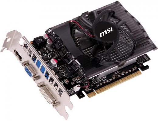 Видеокарта 2048Mb MSI GeForce GT730 PCI-E DVI HDMI N730-2GD3V2 Retail