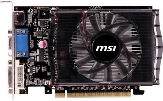 Видеокарта MSI GeForce GT 730 GeForce GT730 PCI-E 2048Mb 128 Bit Retail (912-V809-1201) цены
