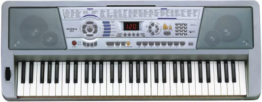 Синтезатор Supra SKB-614 61 клавиша серый supra skb 614