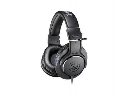 Наушники Audio-Technica ATH-M20X черный technica audio technica ath ar5is высокого разрешения портативный звук circumaural гарнитура черный