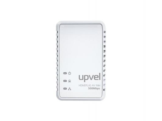 Купить Адаптер Powerline Upvel UA-251P HomePlug AV 500 Мбит/с с поддержкой IP-TV 1LAN порт