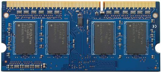 Оперативная память для ноутбуков SO-DDR3 4Gb PC12800 1600 MHz HP B4U39AA