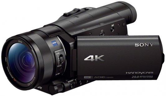 Цифровая видеокамера Sony FDR-AX100E/B 14.2Mpx 12xzoom 3.5'' черный видеокамера sony fdr ax33 черный flash [fdrax33b cel]