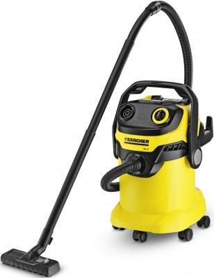Пылесос Karcher MV 5 PREMIUM с мешком сухая и влажная уборка 1100Вт желтый 1.348-230.0 пылесос karcher vc6 600вт желтый черный