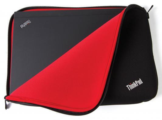 "Чехол для ноутбука 15"" Lenovo ThinkPad Fitted Reversible Sleeve полиэстер черный"